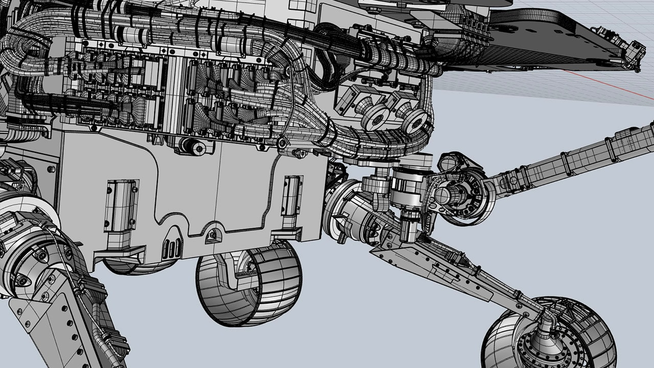 Mars Rover 3D body
