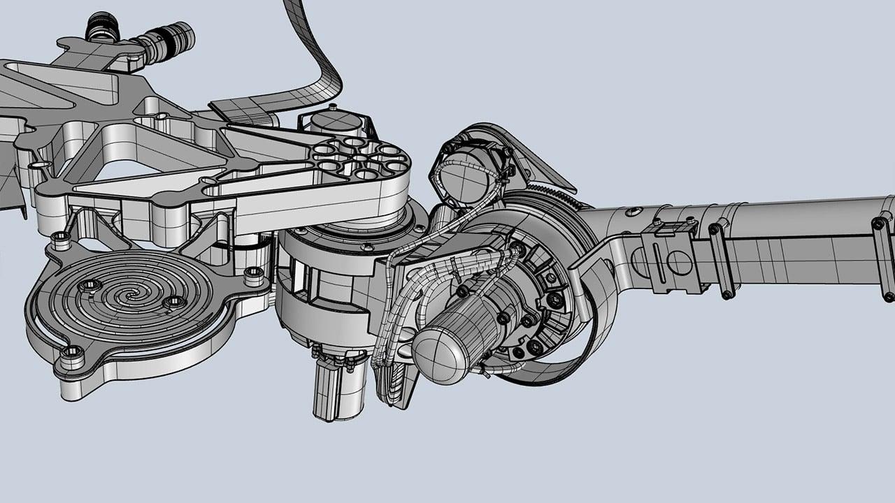 Mars Rover 3D Instrument Deployment Device (IDD)